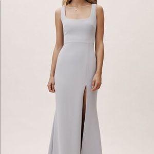 """BHLDN Adena dress in """"fog"""" light gray Size:10"""